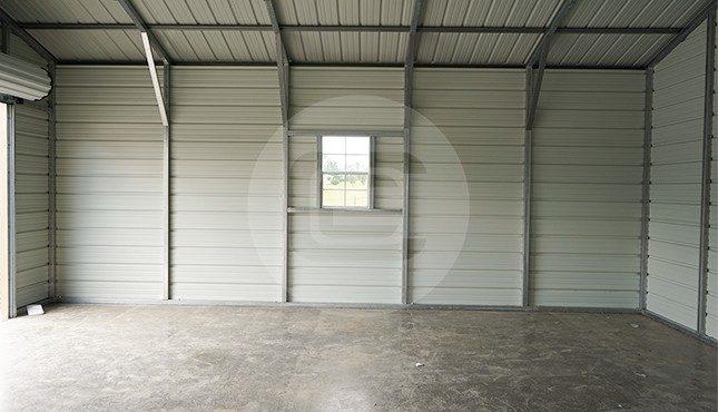 30x25 Steel Garage