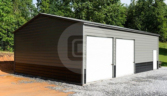 30 x 41 Metal Garage