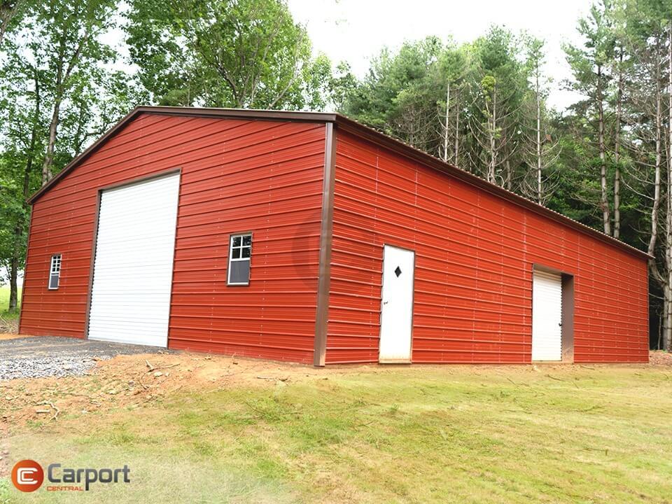 40 x 60 Vertical Roof Garage