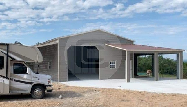 54x40 Lean-to Garage