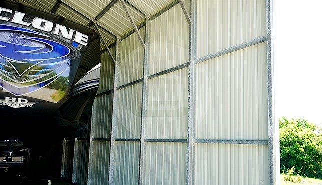 18x56 Vertical RV Carport