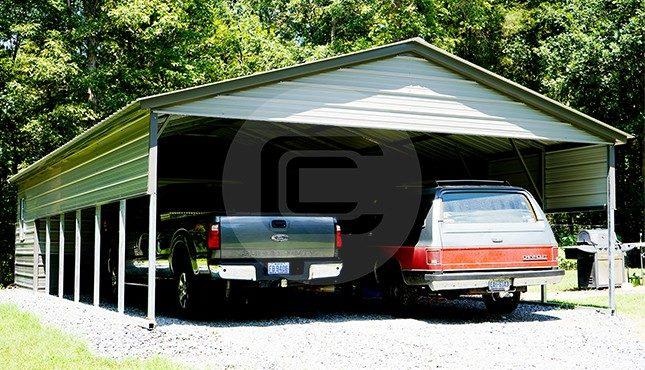 22x40 Utility Carport