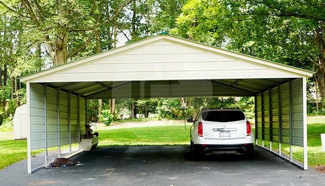 24x26 Steel Carport