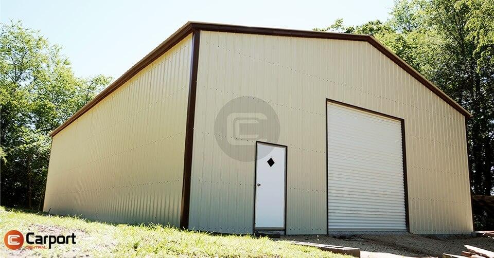 40 x 60 Vertical Metal Workshop