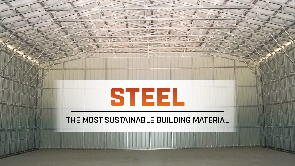 Steel – The Most Sustainable Building Material
