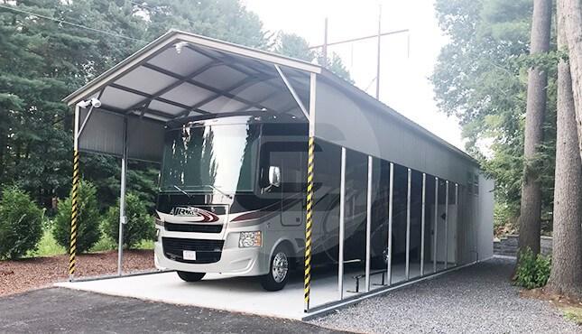 18x56 Utility RV Carport