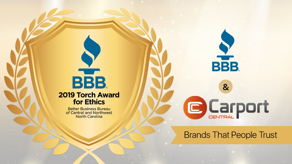 BBB and Carport Central: Brands That People Trust