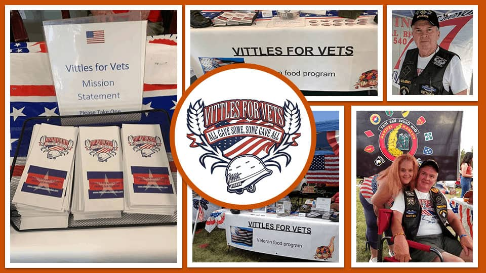 Carport Central Honored to Support Vittles for Vets