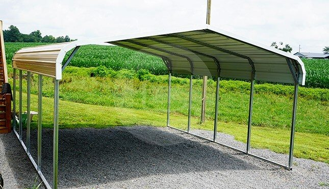 18x21 Regular Steel Carport