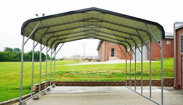 18x26 Regular Roof Steel Carport