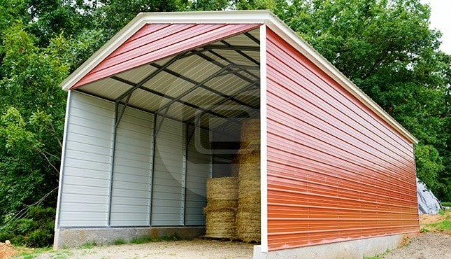 20x41 Steel Carport