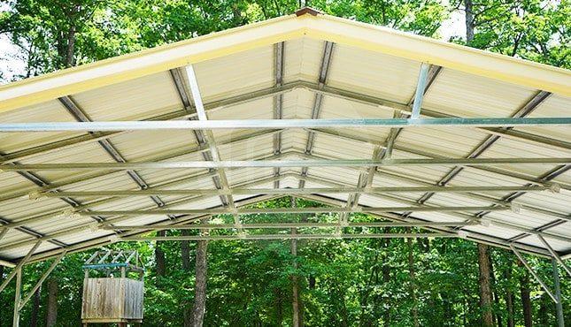 30x21 Vertical Roof Carport
