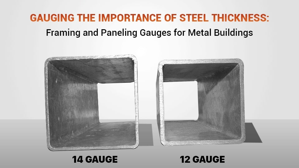 Gauging the Importance of Steel Thickness: Framing and Paneling Gauges for Metal Buildings