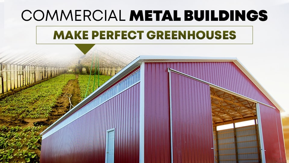 Commercial Metal Buildings Make Perfect Greenhouses