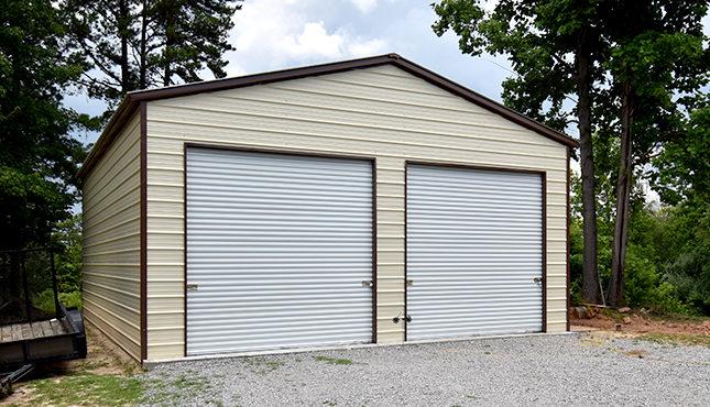 Car Garage 26x36 Metal Building, Metal Garage Buildings Knoxville Tn