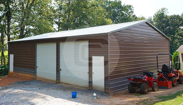 30x46 Double Car Garage