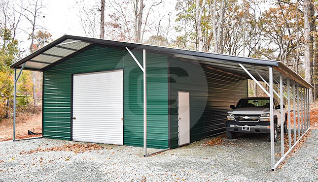 24x41 Steel Utility Building