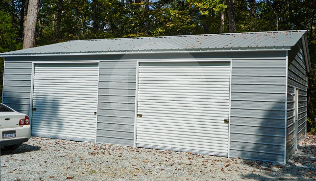 Building Of The Week – 26x36x10 Two Car Steel Garage