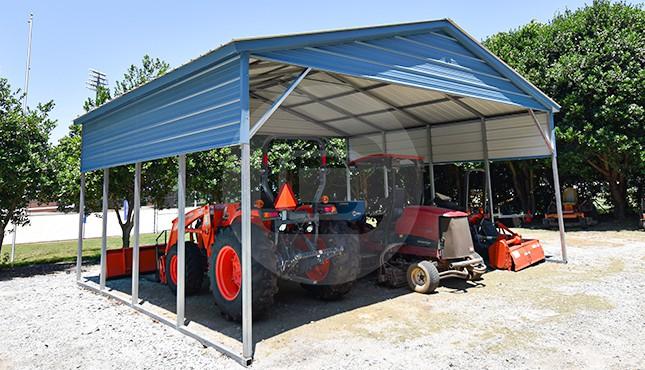 Building Of The Week - 24x21x10 Vertical Roof Metal Carport