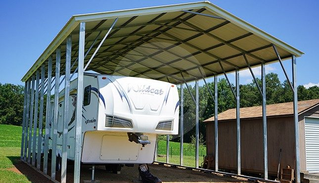 24x41 Metal RV Carport