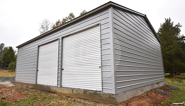 Building Of The Week - 30x41x12 Side Entry Garage