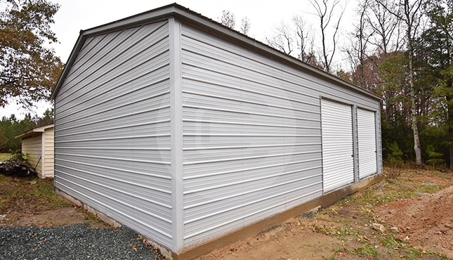 30x41 Vertical Roof Garage