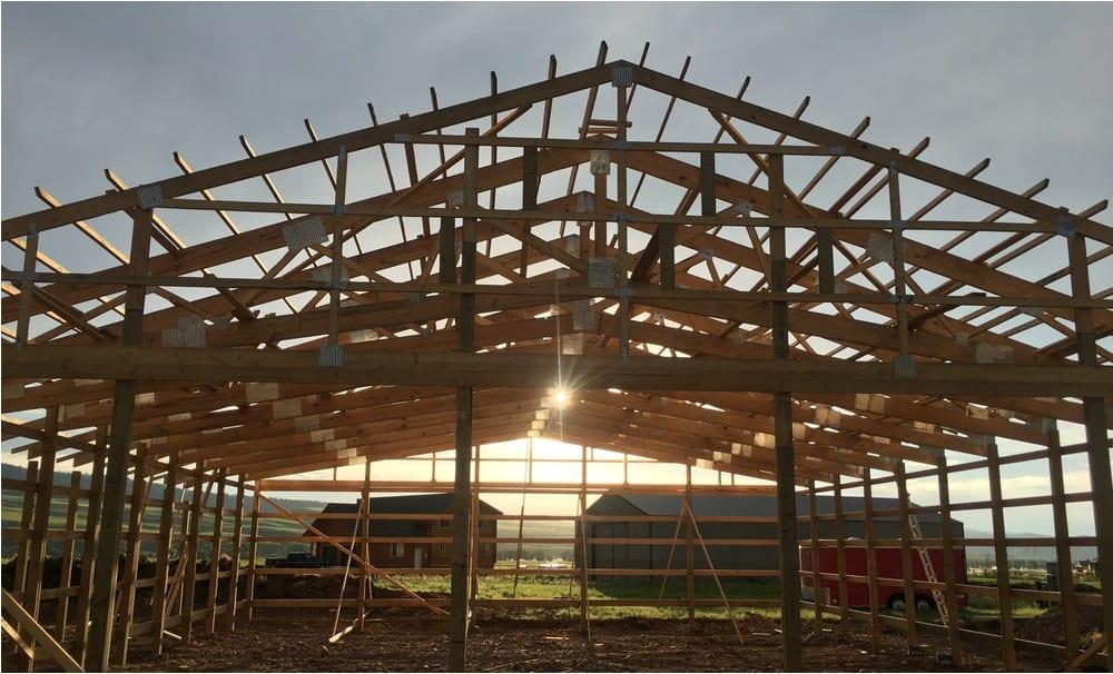 wood-pole-barn