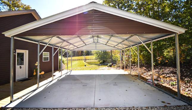 Building Of The Week – 20x26 Custom Metal Carport