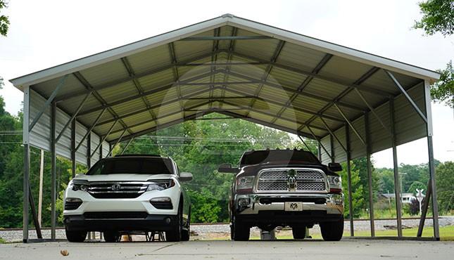 Building Of The Week – 22x26 Custom 2-Car Carport