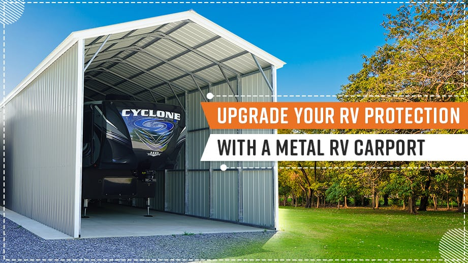 Upgrade Your RV Protection with a Metal RV Carport