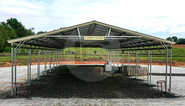 30x101x10 Steel Shelter
