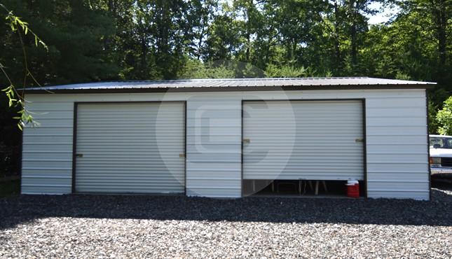 30x36x9 Two Car Garage