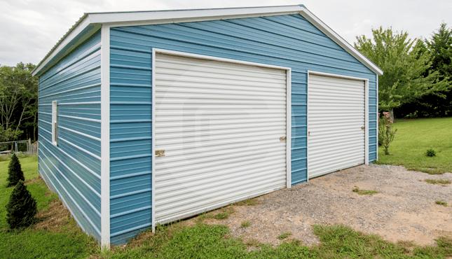 24x26-two-car-metal-garage-1