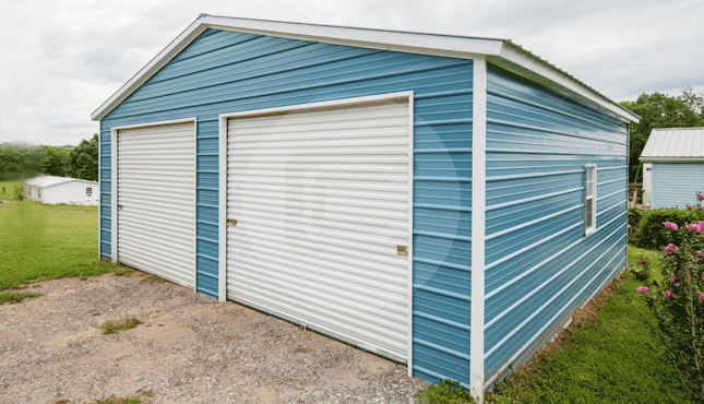 Building Of The Week – 24x26x10 Two Car Garage